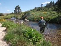 Pêche sur le haut Tarn